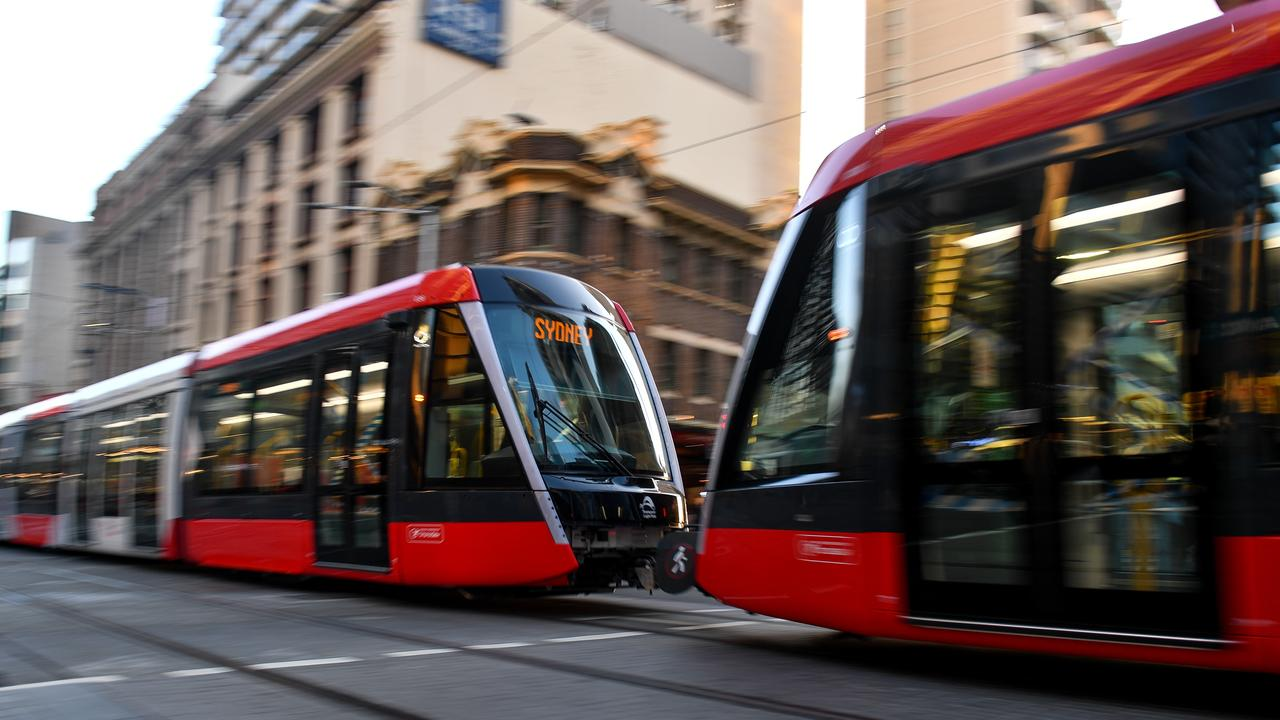 "The NSW Government has said road pricing is a ""tax"" and public transport improvements, like the upcoming Sydney Light Rail, will help avoid jams. Picture: AAP Image/Paul Braven."