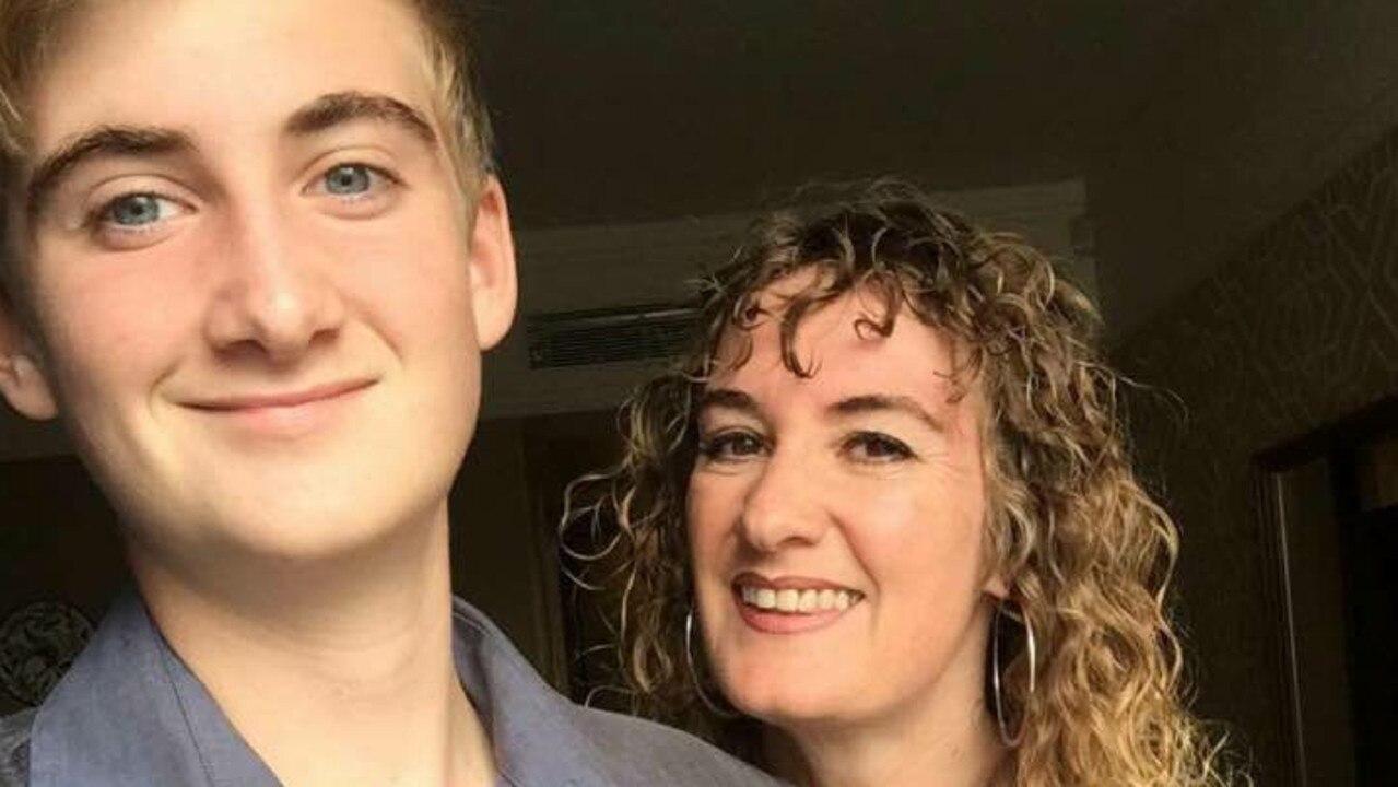 Ben Shaw with mum Dalya.