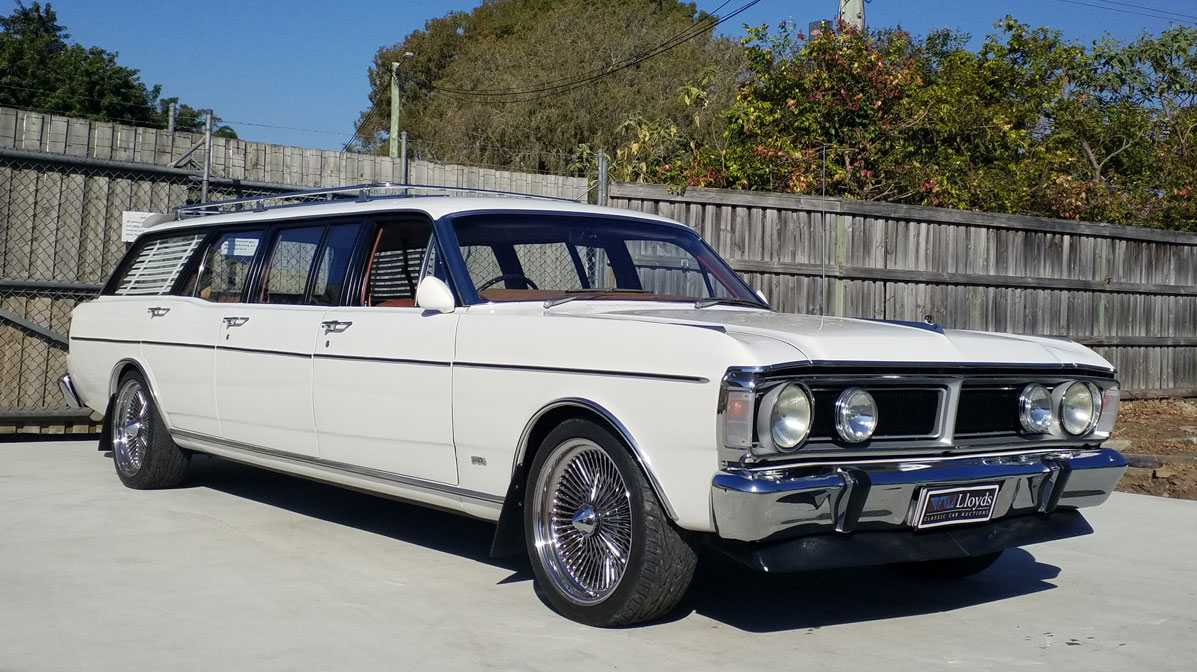 The one-off factory-built Ford Falcon 6-Door is possibly Australia's rarest.