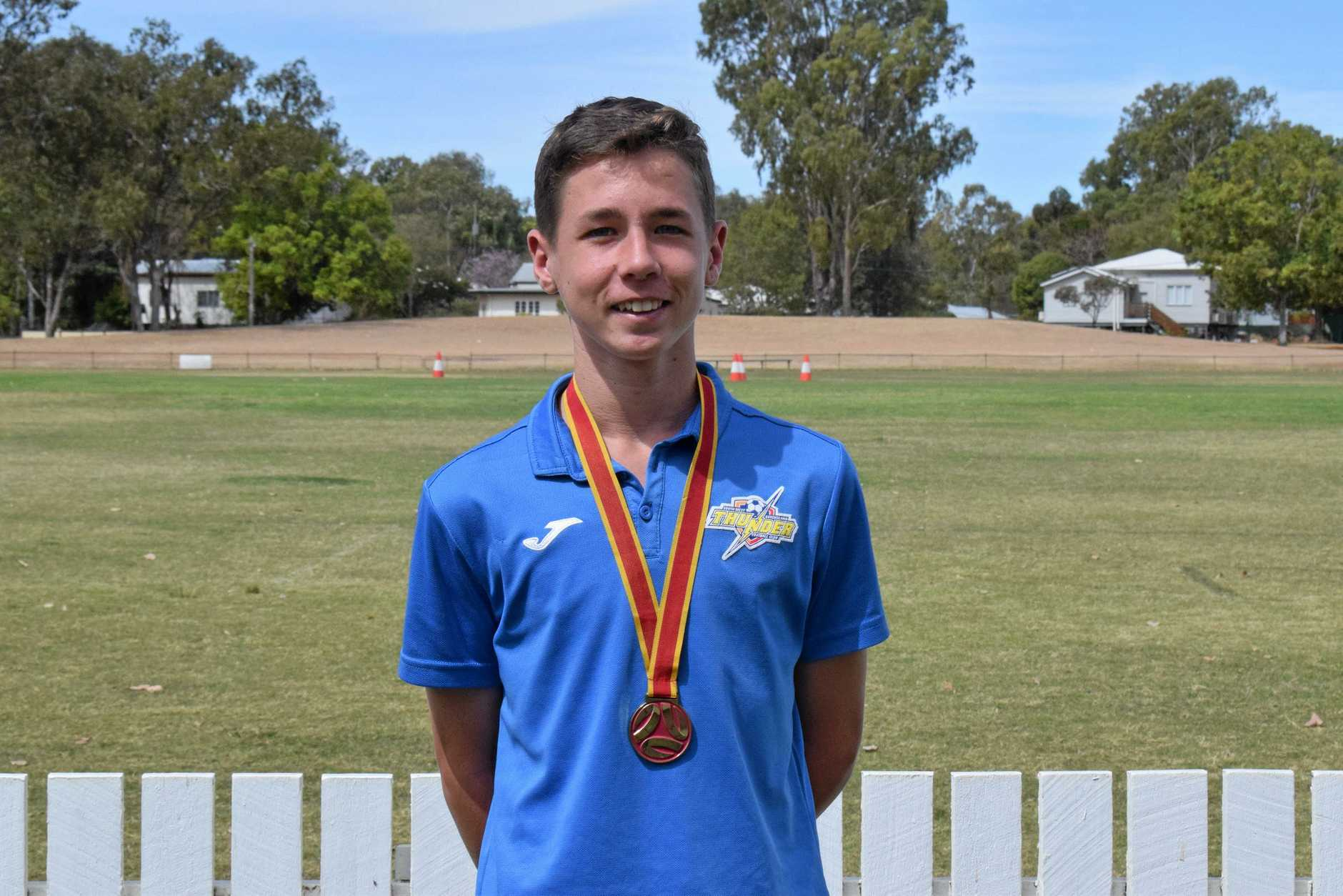 Tyran Henningsen won the National Premier League Grand Final with the South West Queensland Thunder last weekend.