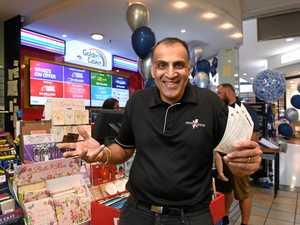 Ipswich newsagent reveals likely winner of $50 million lotto