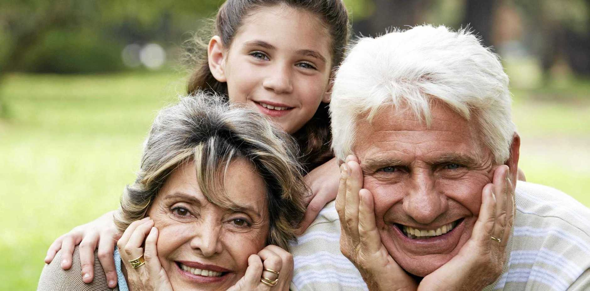 STAYING YOUNG: You can have a lot of fun with your grandchildren and become more active by exploring the world together.