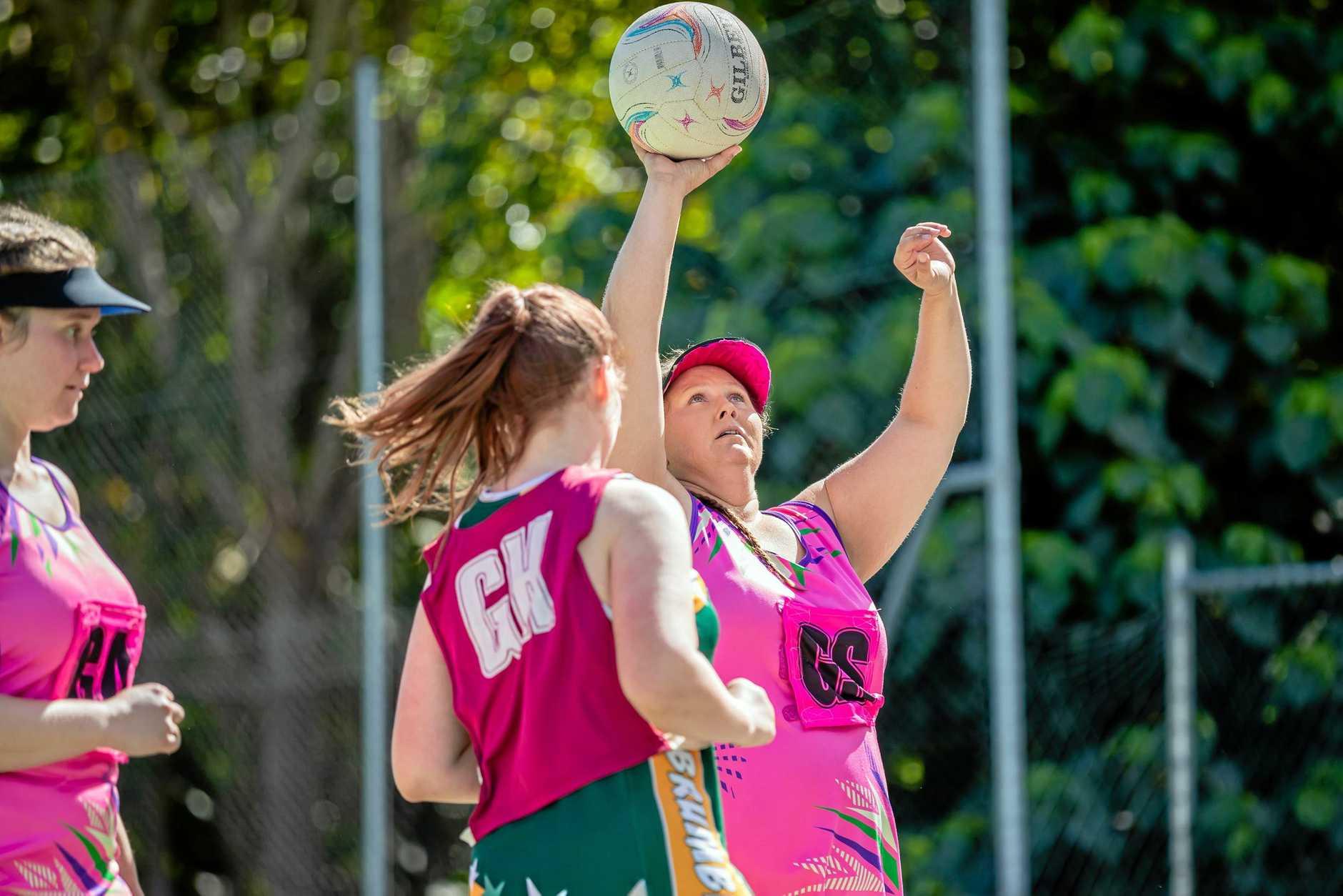 Netball - Priceline vs Brumbies Blazers - Kathy Kunst from Priceline