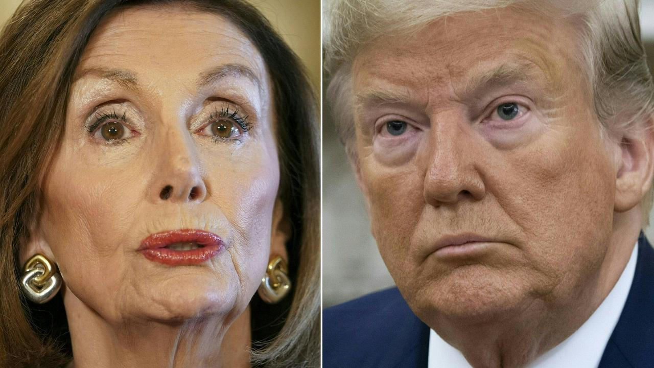 US Speaker of the House Nancy Pelosi announced an 'official impeachment inquiry' into President Donald Trump, but has not actually called an impeachment vote. Picture: Mandel Ngan and Saul Loeb/AFP