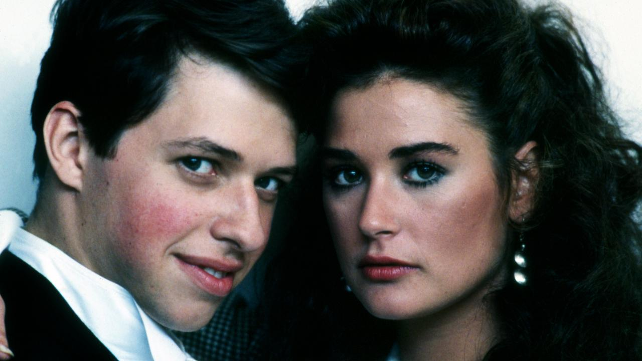 Jon Cryer and Demi Moore in No Small Affair. Picture: Alamy