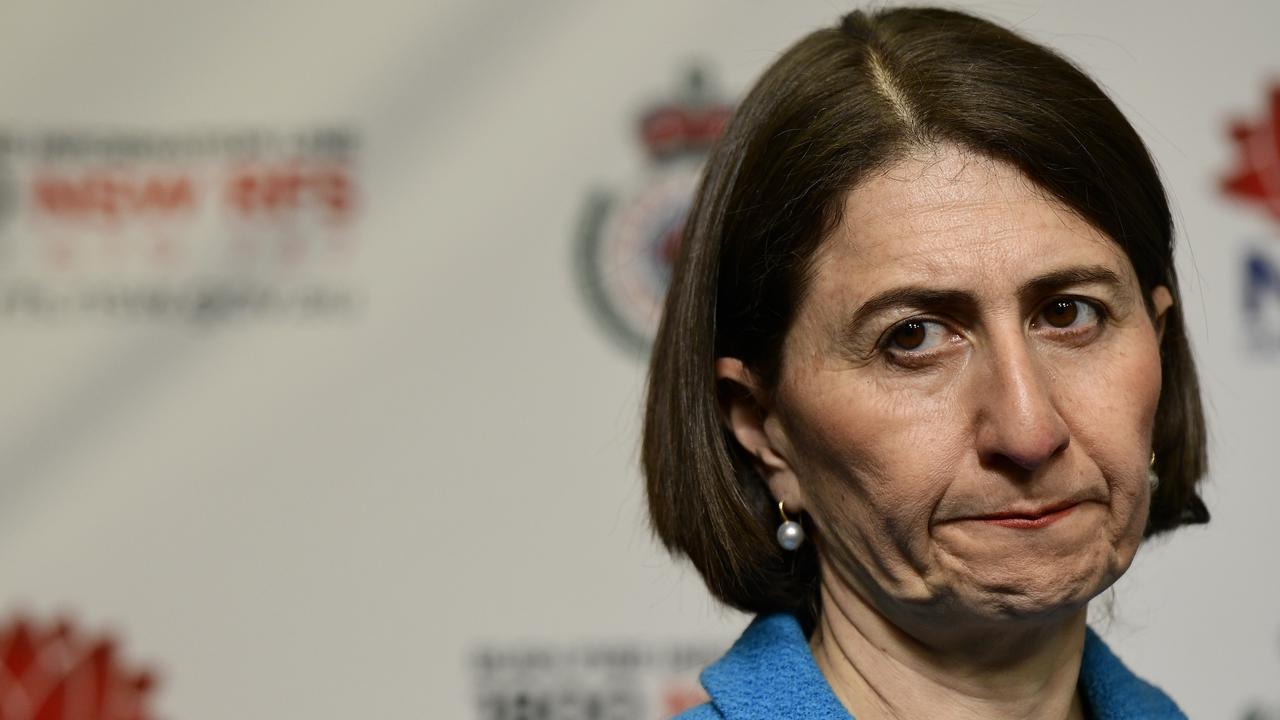 NSW Premier Gladys Berejiklian. Picture: AAP/Bianca De Marchi