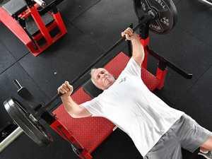 Master of the metal still lifting strong at 78