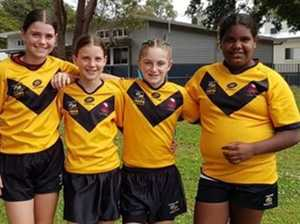 Girls' glimpse of a bright future in rugby league