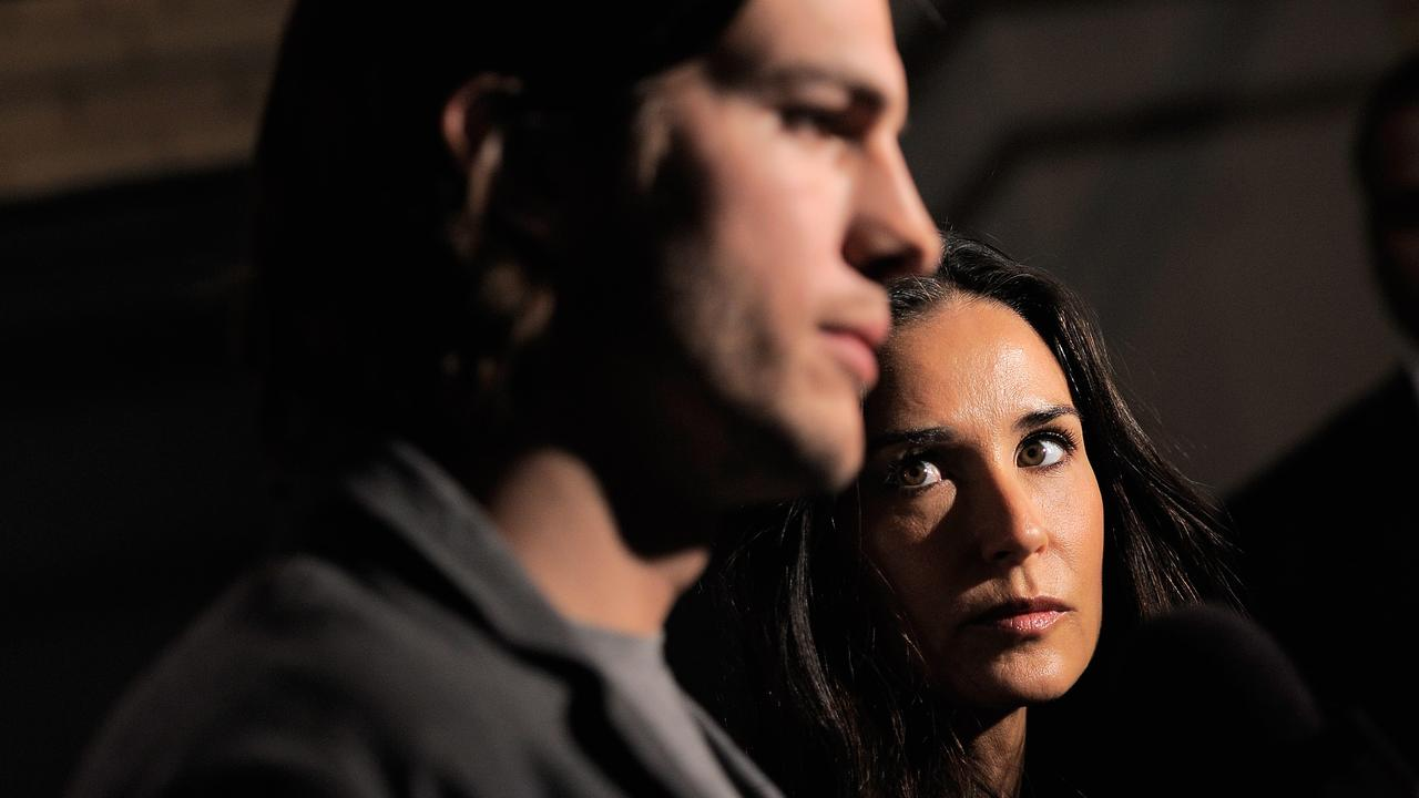 Ashton Kutcher and Demi Moore sin 2011. Picture: Jemal Countess/Getty Images