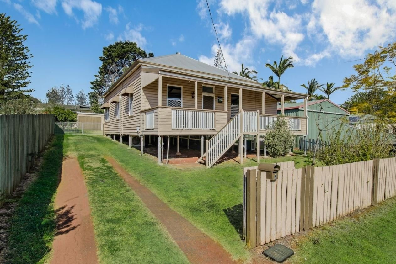 8 Churinga Street, Harlaxton, Qld 43502 bedrooms, 1 bathroom, 1 garage space 597 m HouseInterest Over $280,000