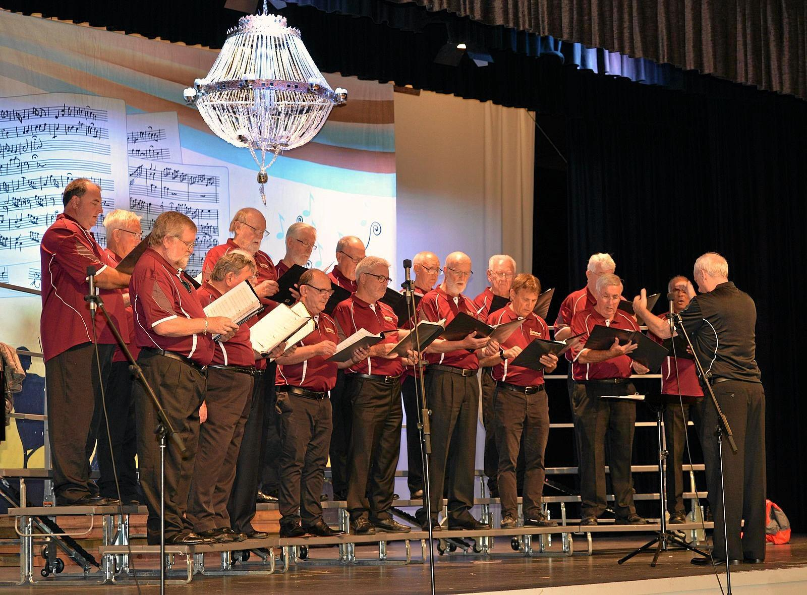 The popular Buderim Male Choir will premiere their current program of popular songs that stir the soul in the Uniting Church, Queen Street, Caloundra at 2pm Sunday, October 27.