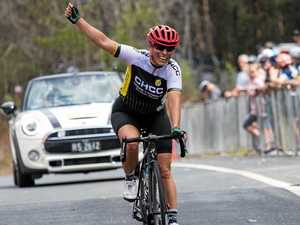 MASTERFUL MOSS: Clarence cyclist makes big return to podium