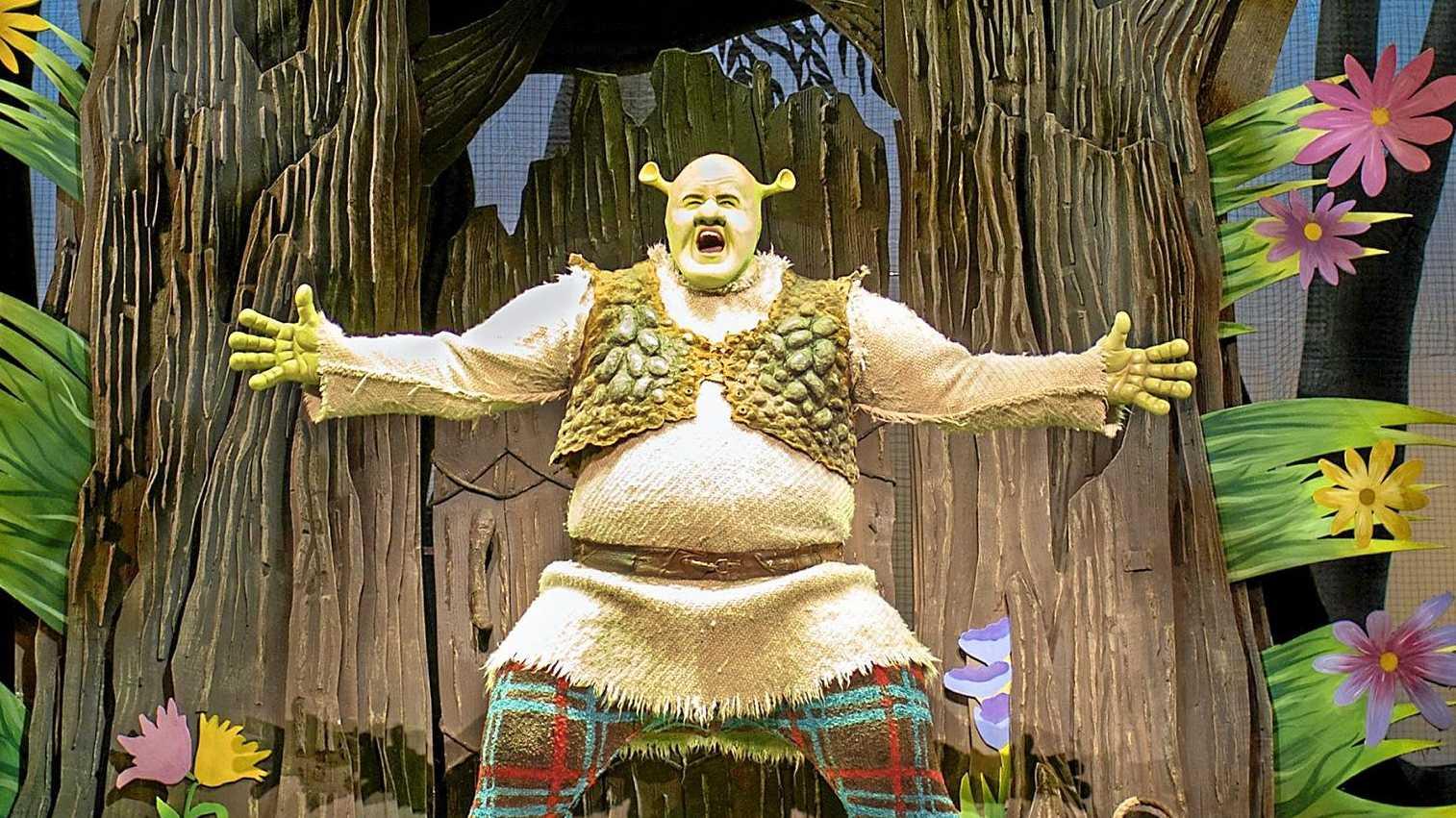 Shrek the Musical is coming to Australia.