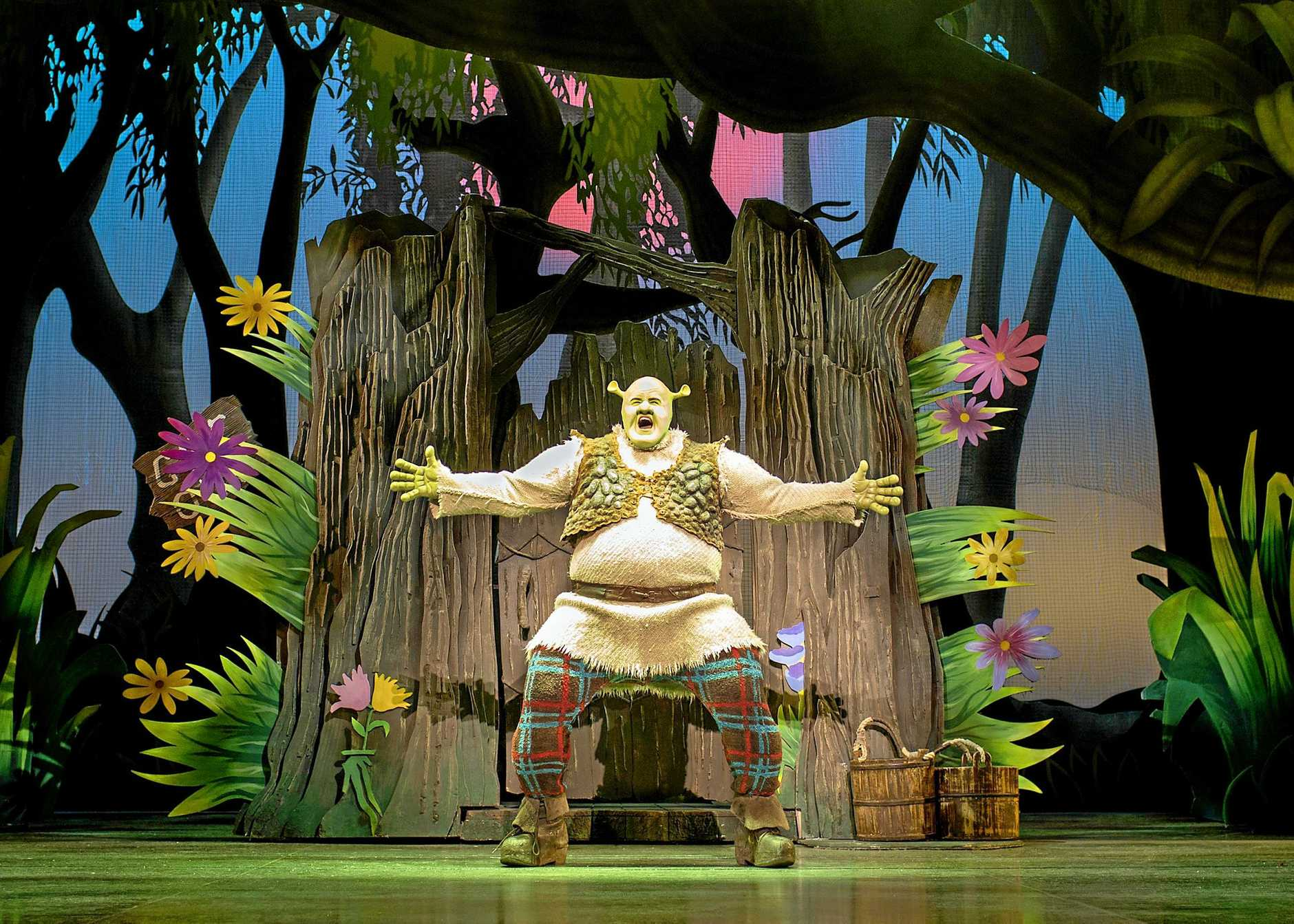 Shrek the Musical is coming to Australia.