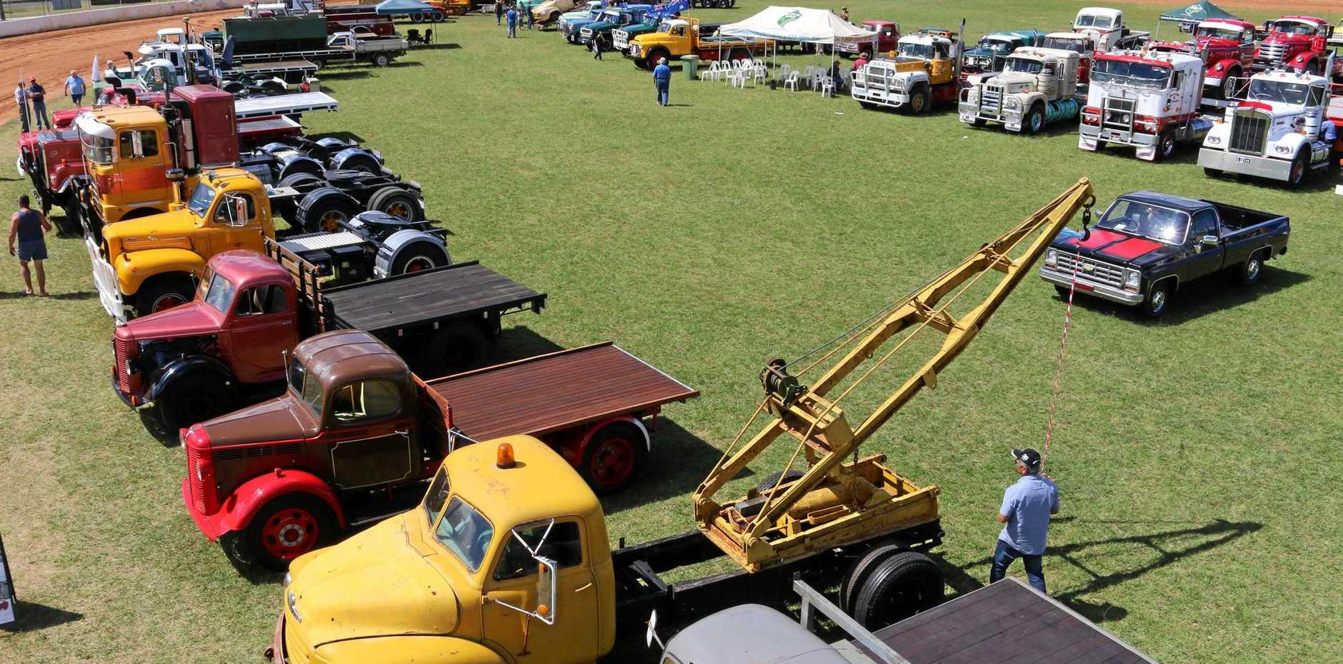 The HCVAQ Historic Truck, Tractor and Machinery Show is one of the events coming up this week