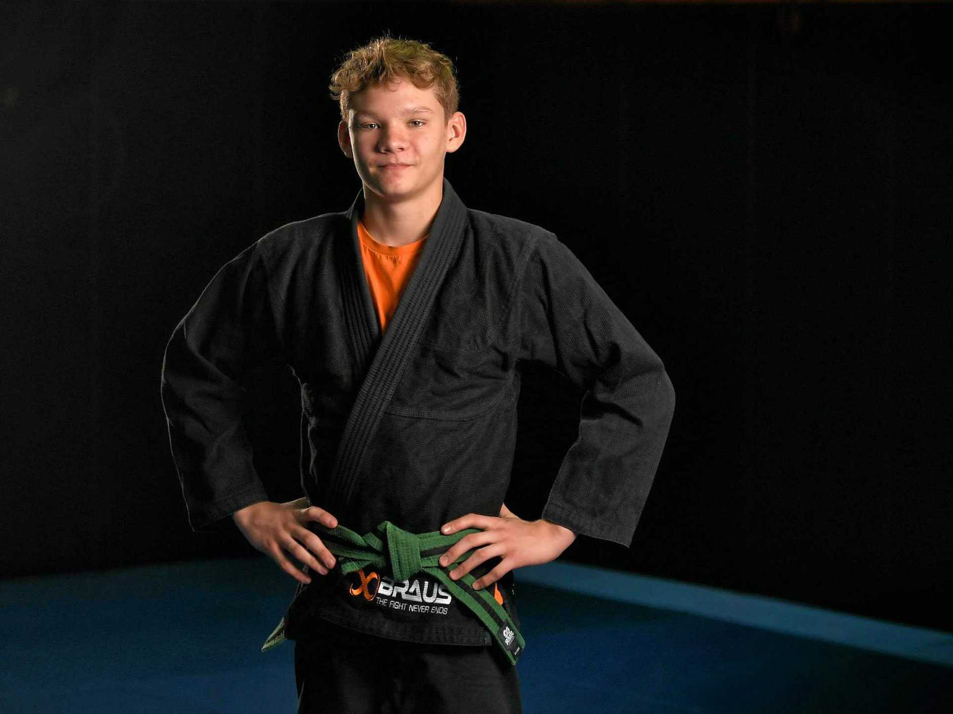 LOFTY GOAL: Jiu jitsu specialist Sabbath Smrecnik will target back-to-back gold medals at the Pan Pacific Championships.
