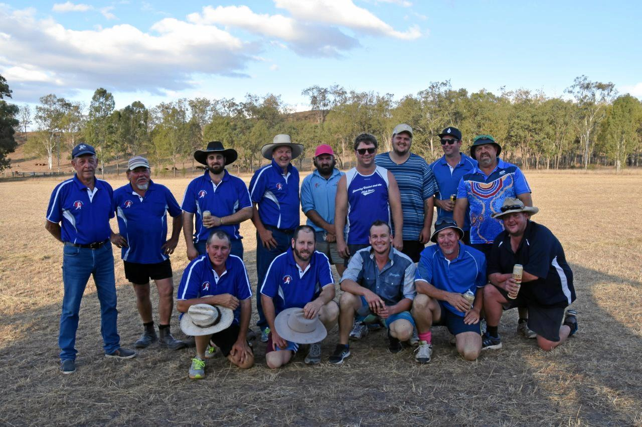MUNGUNGO V THE WORLD: Mungungo and the Woodcutters, who came out victorious in the final.