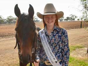 Head injury no match for Rodeo Princess hopeful