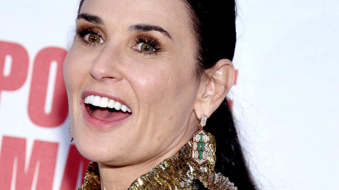 Demi Moore has generated plenty of headlines with her new memoir. Picture: Gregg DeGuire/Getty Images