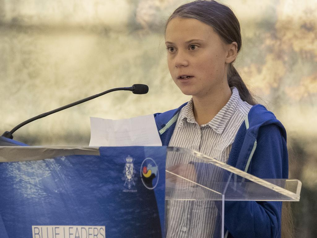 Swedish climate activist Greta Thunberg has attracted a global following with her stance on climate change. Picture: AP
