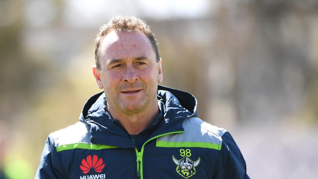 Would you like to see Ricky Stuart and the Canberra Raiders win the comp this year? Picture: Getty