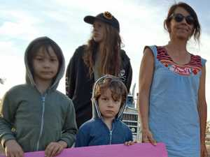 Families target work camp in anti-Adani protest
