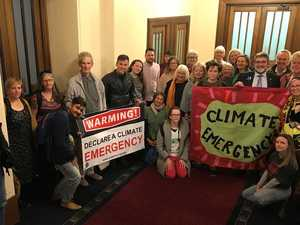 Liberal dissent as Parliament declares climate emergency