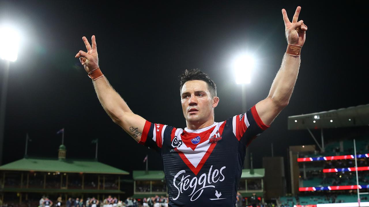 Cronk has enhanced his legacy since joining the Sydney Roosters. Picture: Getty