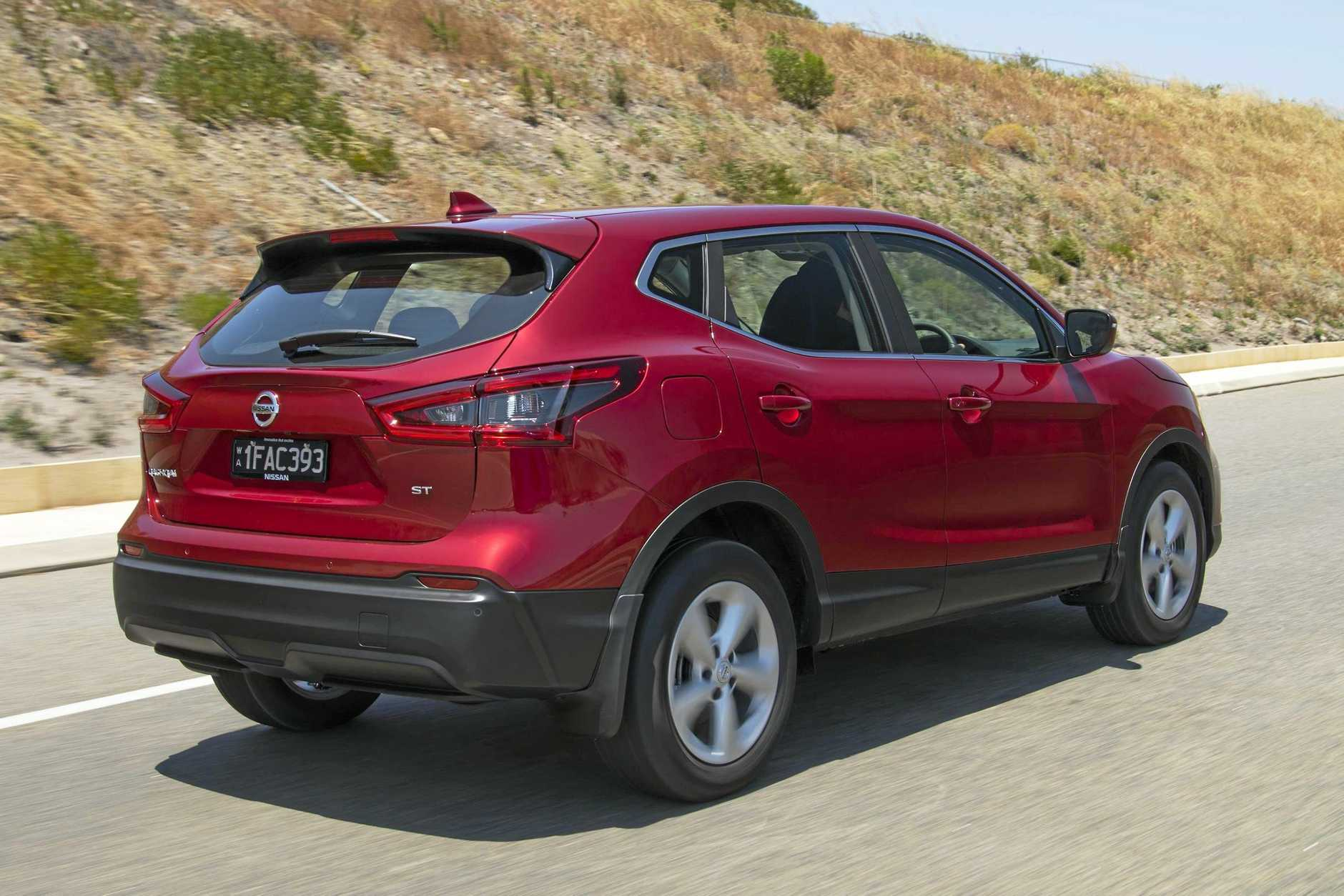 The Nissan ST is the entry-level offering in the Qashqai range.