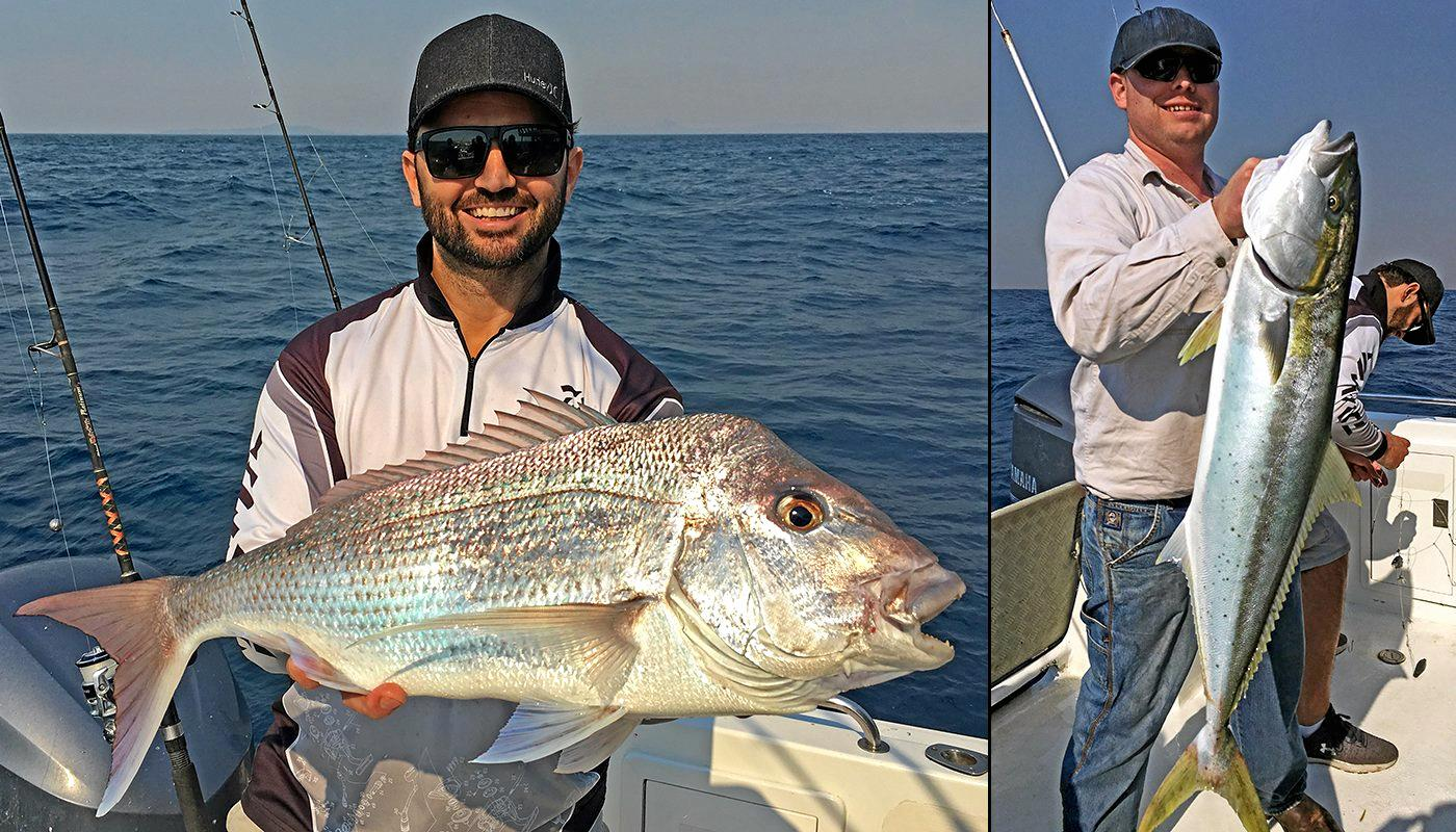 WHAT A CATCH: Kristian Markovic from Burpengary boated this snapper while on a Cougar One charter to North Reef.