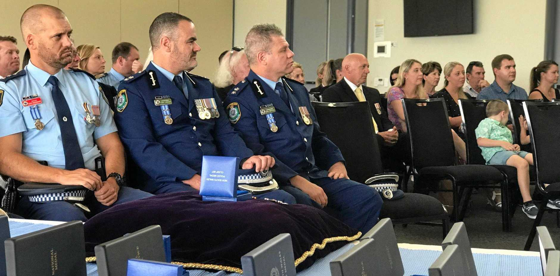 POLICE AWARDS: ON September 26, 2019, senior officers from Richmond Police District gave awards to police and community members for their service.