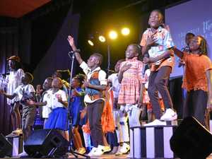 WATCH: Watoto choir shares message of hope