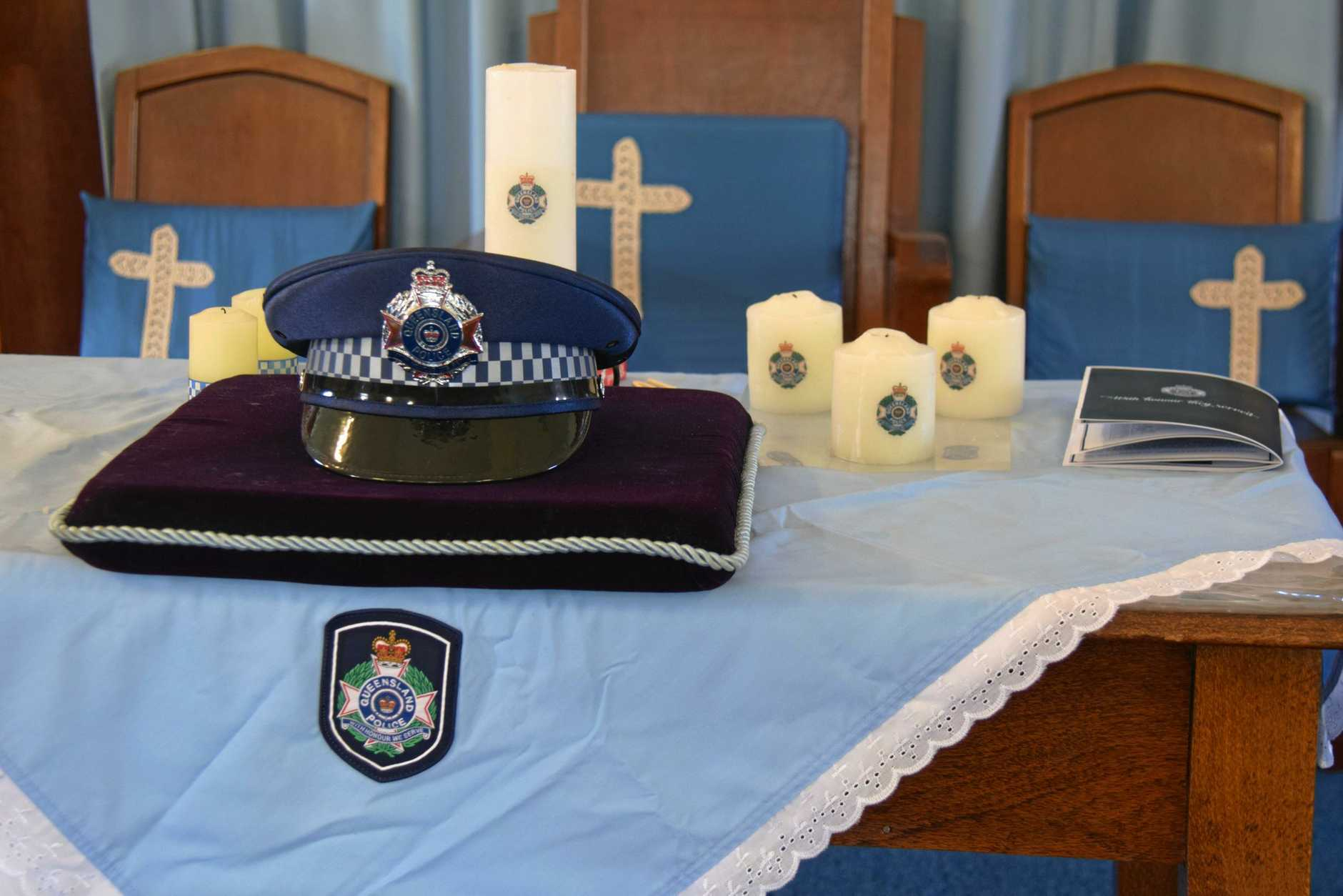 WE WILL REMEMBER THEM: National Police Remembrance Day at Uniting Church, Wondai.