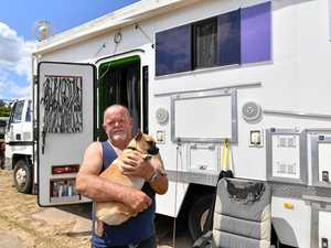 Old ice cream truck turns into home on wheels for traveller