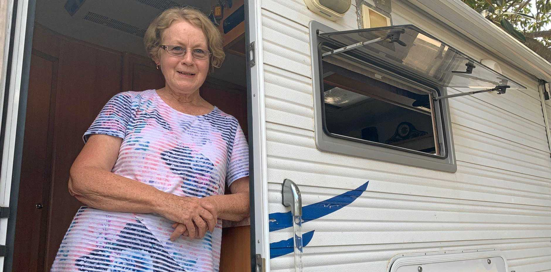 Barbara Lacey has been enjoying the sights and sounds of Maryborough.