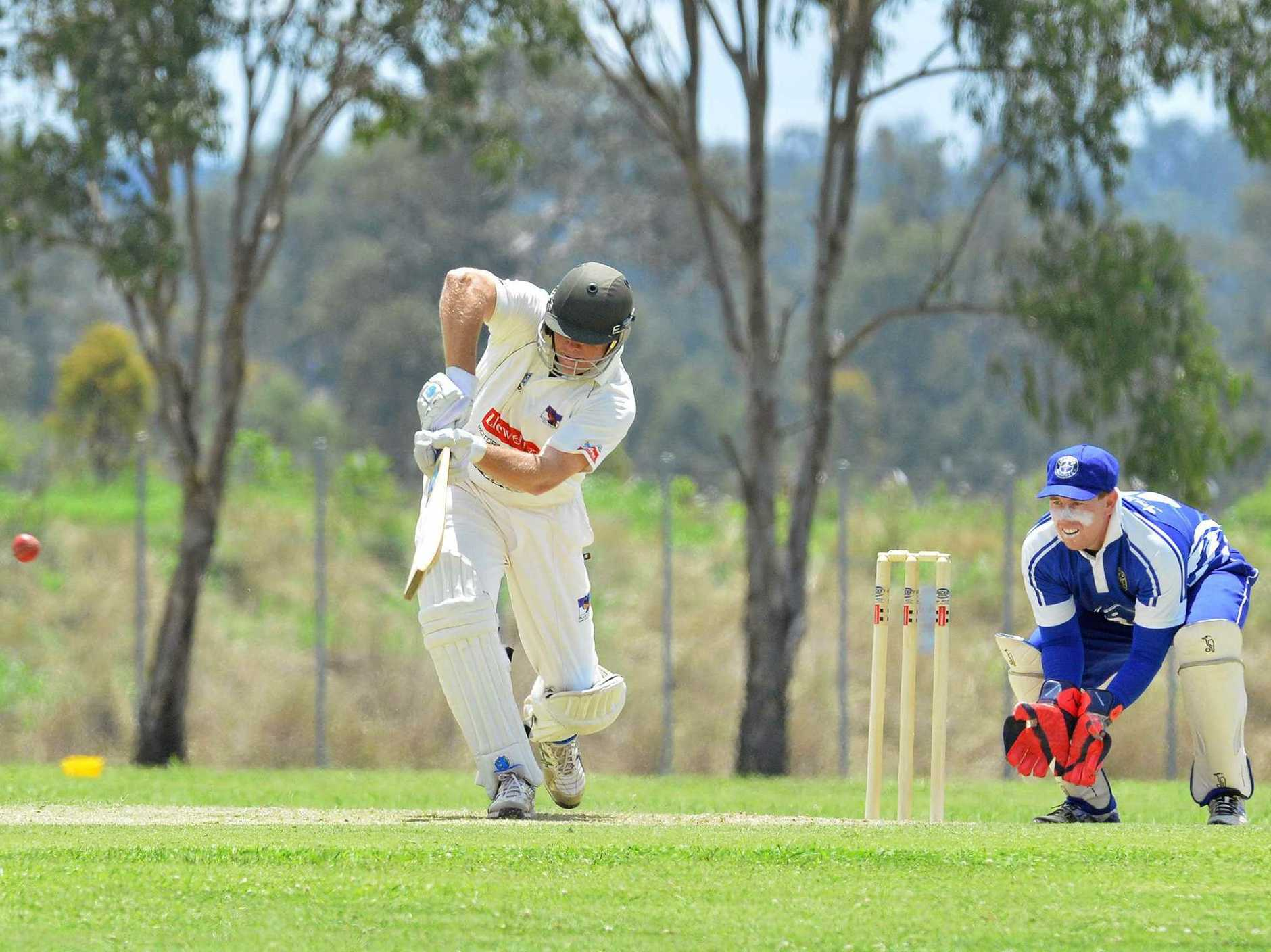 KEY MAN: Laidley batsman Michael Sippel will again have a crucial role to play.