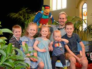 Kids fly into school holidays with Paradise the Parrot