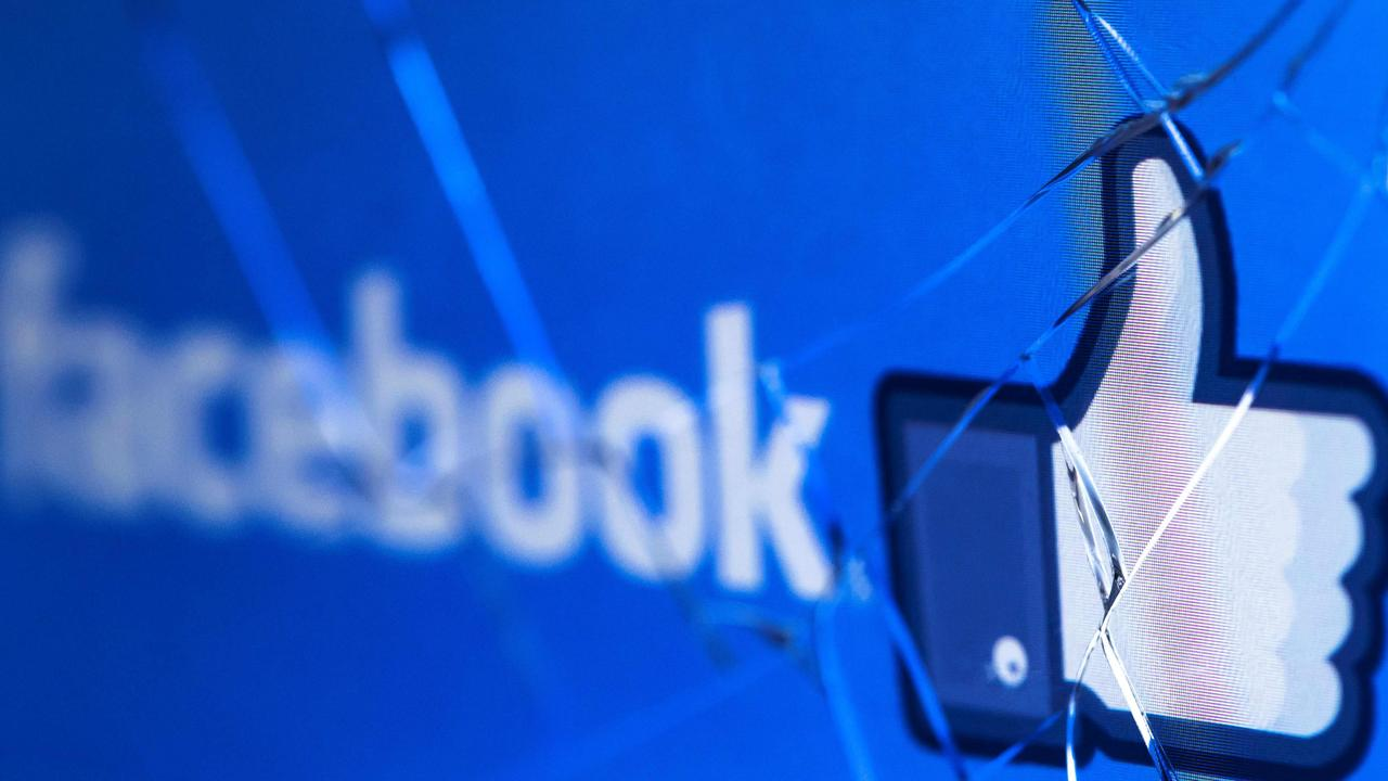 Facebook has removed 'likes' in a world-first test for Australian users. Picture: Joel Saget/AFP