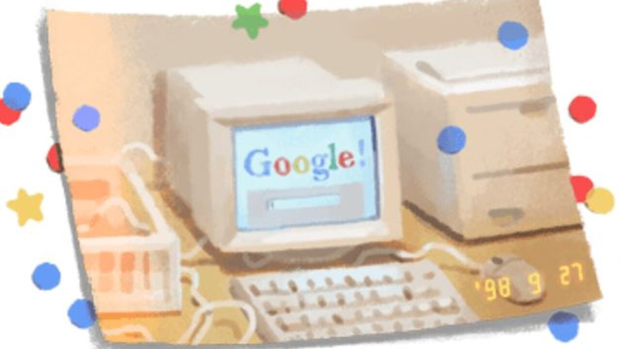 Google Doodle celebrates Google's 21st Birthday