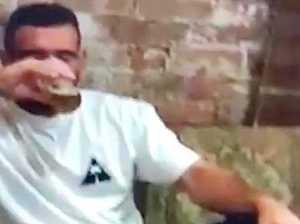 Football star's drunken night of negligence caught on camera