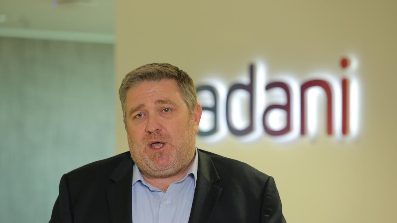 Lucas Dow, CEO Adani Mining. Pic Mark Cranitch.