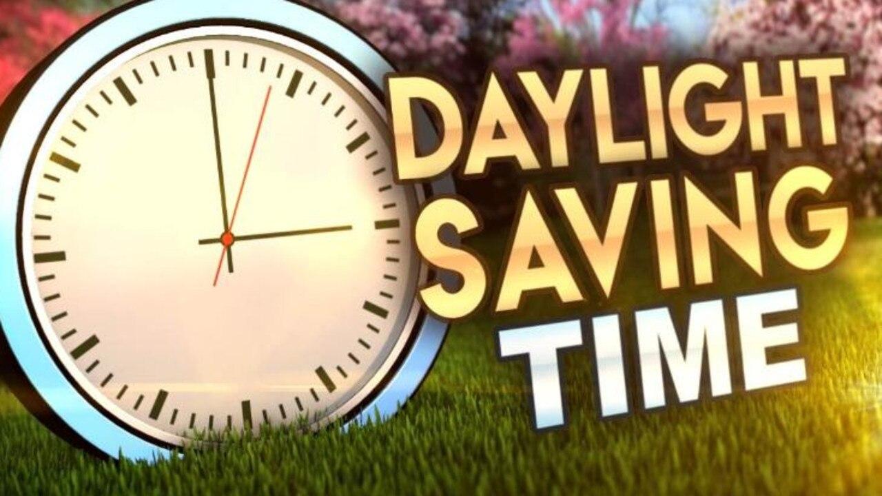 Daylight saving will begin Sunday, October 6.