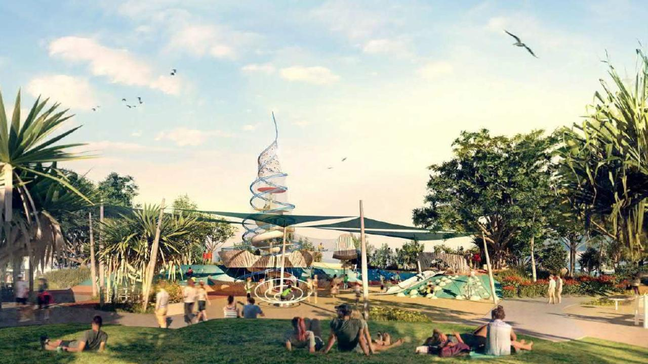 Artist impression of Southport Broadwater Parklands Stage 4. Picture: Gold Coast City Council