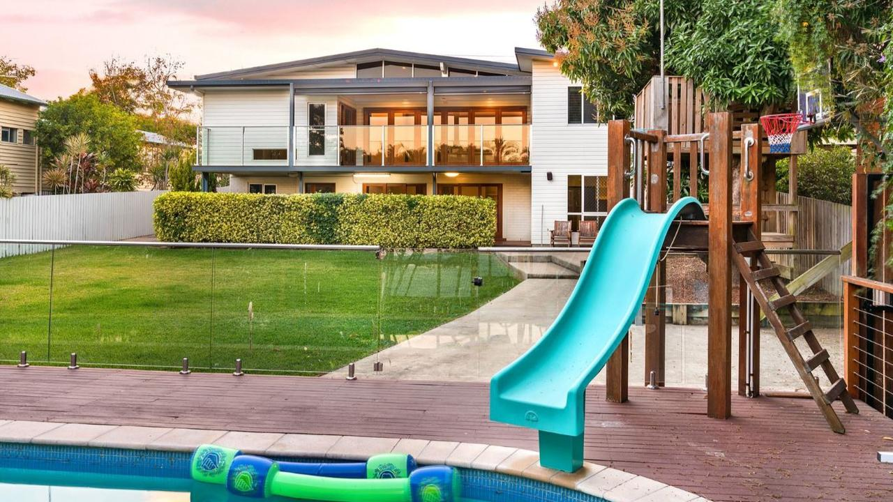 LUXURY IN THE RANGE: 5 Agnes Street, The Range will go up for auction this Saturday.