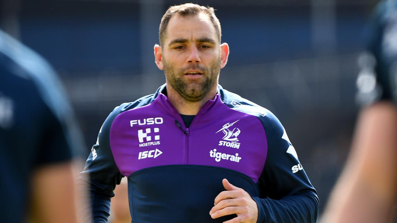 Storm skipper Cameron Smith could possibly play his last NRL match in Saturday night's semi-final against the Roosters.