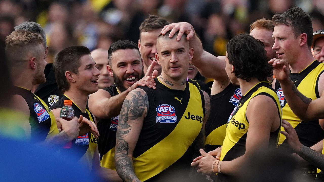 Dustin Martin takes his place among the big-game greats.