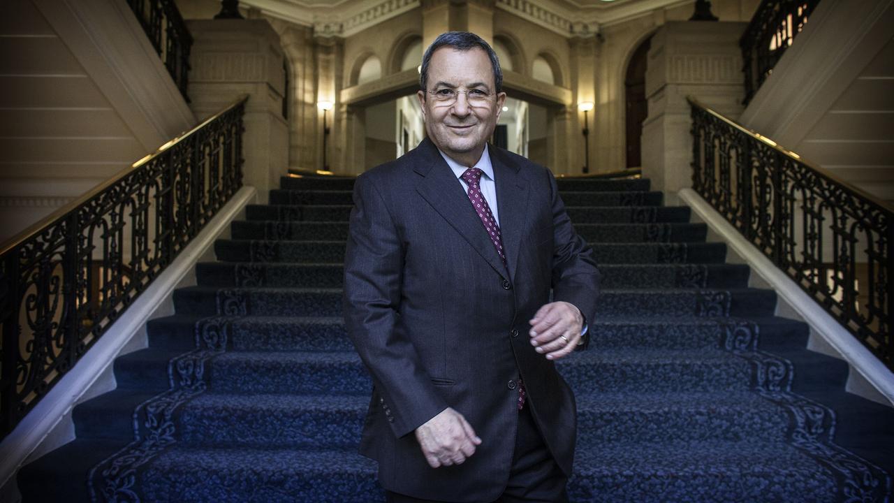 Former Prime Minister Ehud Barak Picture: Richard Pohle