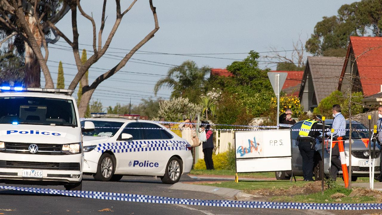 Police in Kings Park. Picture: Sarah Matray