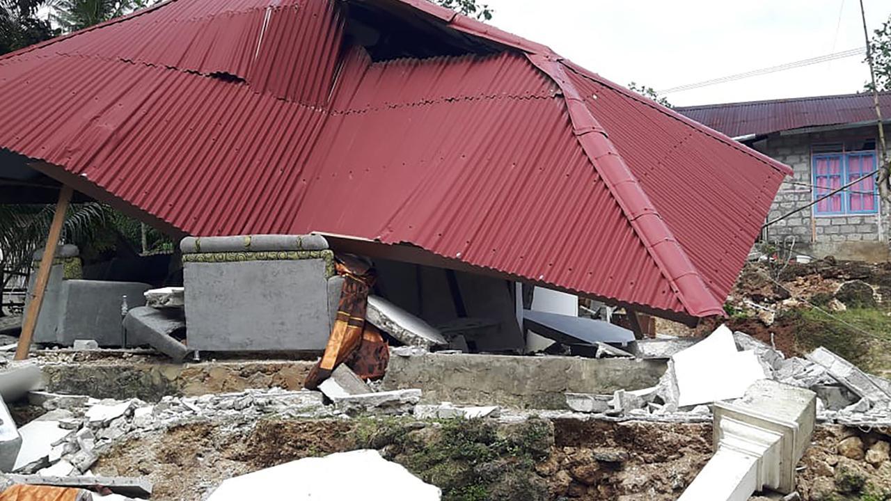 At least 126 people were injured. Picture: Indonesia's Badan Nasional Penanggulangan Bencana (BNPB)/AFP
