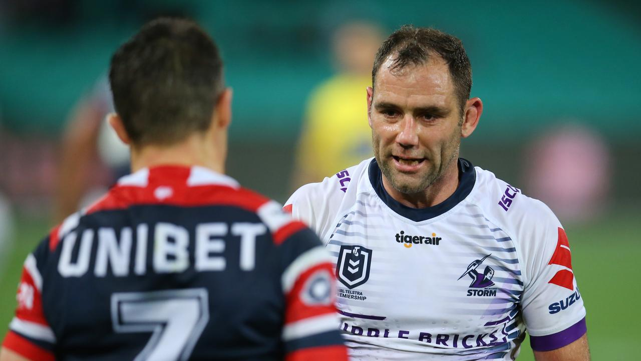 Cameron Smith and Cooper Cronk could bow out at the same time.